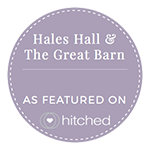 Hales Hall & The Great Barn as featured on Hitched.