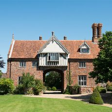 Gatehouse at Hales Hall norfolk bridal suite for brides and groom on their wedding night
