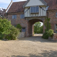 gatehouse bridal suite at hales hall wedding accommodation norfolk