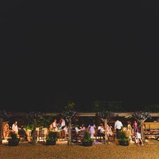 evening wedding reception at hales hall norfolk Suffolk