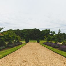 Hales Hall grounds in Norfolk / Suffolk