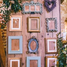 beautiful table plan at liann & tom's wedding at hales hall & the great barn in Loddon. photo by James powell photography